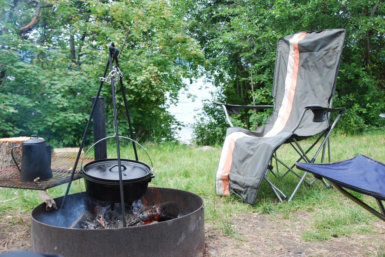 Camping on Montana's Flathead Lake