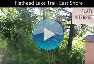 Flathead Lake Trail Video