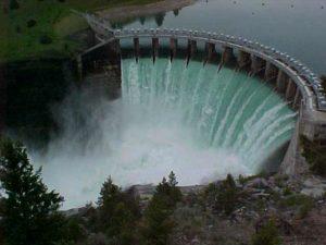 Kerr Dam, Outside of Polson