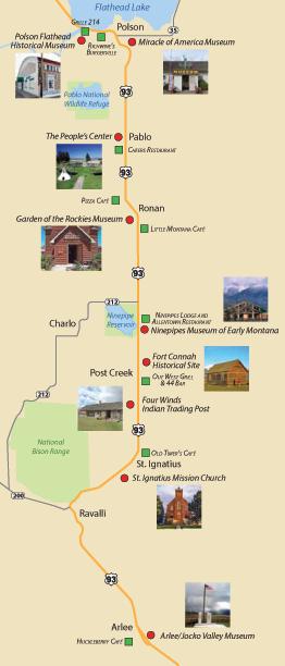 Museums around Polson Montana