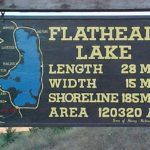 Old Flathead Lake Sign