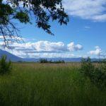 Ninepipes south of Flathead Lake